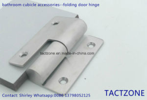 China Manufacturer Toilet Cubicle Partition Accessories Folding Door Hinge pictures & photos