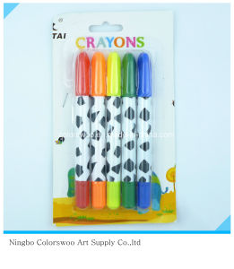 50g 5PCS Plastic Crayons for Students and Kids pictures & photos