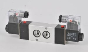 Airtac Model Plate Connection Type Solenoid Valve 4m220-08 24V 110V 220 Volt pictures & photos