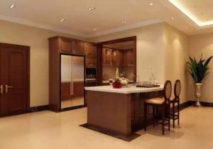 America Standard Kitchen Cabinet Design with Decoration (FOH-MKC1320) pictures & photos