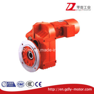 0.12kw-200kw F Series Parallel Hollow Shaft Helical Speed Reducing Gear Motor for Belt Conveyor pictures & photos