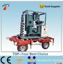 Portable High Vacuum Electrical Insulating Liquids Oil Treatment Plant (ZYD-100) pictures & photos