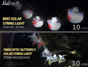 Bird Solar String Light with 10 LEDs pictures & photos