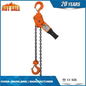 Vital Model Lever Pulley Hoist with Overload Protection pictures & photos
