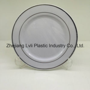 Plastic Plate, Disposable, Tableware, Tray, Dish, Colorful, PS, SGS, Hot Stamp Plate, PA-01