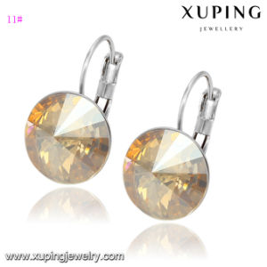 28457 Fashion Charm Colorful Crystals From Swarovski Jewelry Earring Huggies pictures & photos