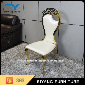 Hotel Furniture Glod Metal Chair for Wedding pictures & photos