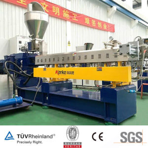PE Crosslinked Pipe Raw Material Twin Screw Masterbatch Machine pictures & photos