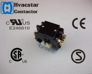 UL Definite Purpose Contactor 20A 3p Air Conditioner AC Contactor pictures & photos