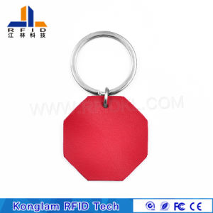 Wholesale Leather Portable MIFARE Smart RFID Card pictures & photos