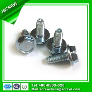 China Factory Zinc Plated Hex Washer Head chair Screws M3.5 pictures & photos