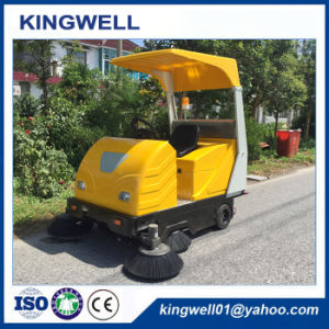 Electric Ride on Sweeper Road Clean Machine Road Sweeper (KW-1760C) pictures & photos