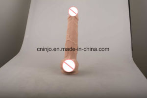 Injo Double Skin Sex Toy Dildo #Dk4551 pictures & photos