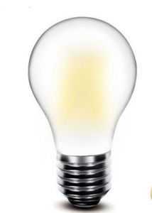 6W Frosted E27 Ce and Rhos LED Filament Lamp pictures & photos