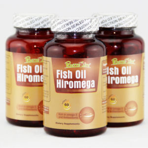 GMP Fish Oil Omega 3 EPA DHA Softgel Capsules Supplements pictures & photos