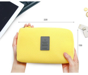 Korean New Travel Makeup Digital Power Line with a Fixed Tape Storing Bathroom Cosmetic Bag Bags Wholesale pictures & photos