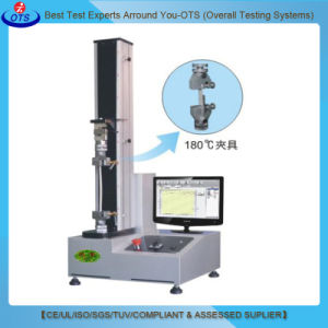 High Precision Single Column Electronic Tape Peel Material Tensile Strength Tester pictures & photos