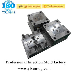 Two USB Ports Socket Shell Plastic Mould pictures & photos