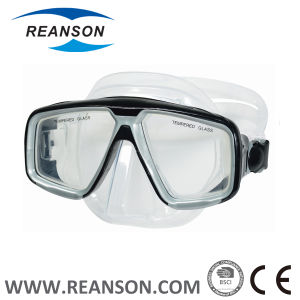Window Design Silicone China Diving Mask Gear and Goggles pictures & photos