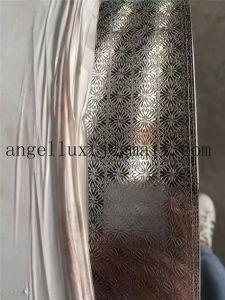 Stainless Steel Embossed Metal Sheet Decorative for Kitchen Wall and Cabinets pictures & photos