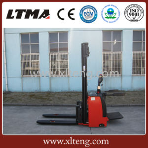 Ltma Flexible 1.5 Ton Electric Pallet Stacker Price for Sale pictures & photos
