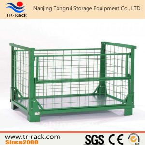 Heavy Duty Stackable Warehouse Mesh Cage pictures & photos