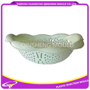 Plastic Injection a Small Leak Lace Basket Mold pictures & photos