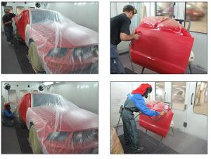 Acrylic Car Paint Usage HS Ms Clear Coat pictures & photos