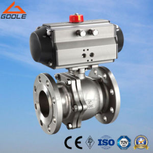 Pneumatic O-Shaped Cutting-off Ball Valve (GZSHO) pictures & photos