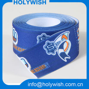 Custom Logo 2 Inch Jacquard Webbing Elastic Tape for Sewing pictures & photos