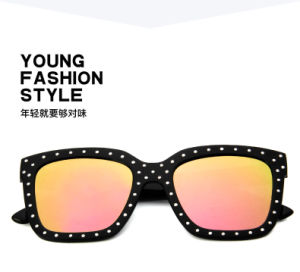 Rivet Sunglasses Fashion Metal Plastic Sunglasses pictures & photos