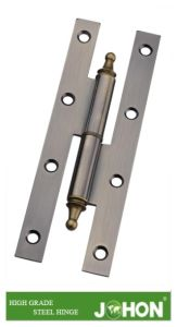 Steel or Iron Hardware H Gate Hinge (110/120X55mm Door Accessories) pictures & photos
