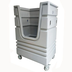 Laundry Trolley Linen Cage Hotel Use