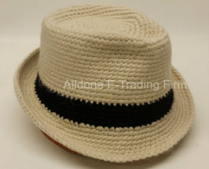 Knit Crochet Trilby Fedora Hats Bucket Hat Cloche Beret Beanie pictures & photos