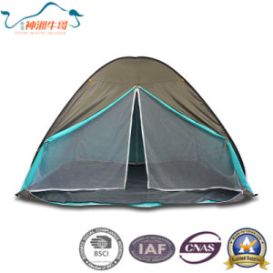 2017 New 170t Polyester with Silver Coating Pop up Camping Tent pictures & photos