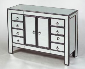 Mirrored Chest with Drawers for Living Room Cabinet Furniture pictures & photos