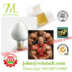 Steroids Powder Testosterone Propionate Mass Muscle Gain / Bodybuilding pictures & photos