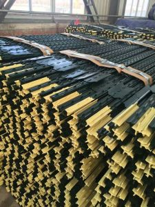Metal T Post china high quality rail steel, carbon steel studded t post / t