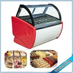 High Quality Good Price Ice Cream Showcase pictures & photos