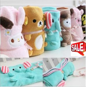 Hot Sales Cute Cartoon Animal Plush Blanket Coral Fleece Baby Blanket Ca-01871A pictures & photos