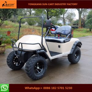 Ce Certification 2 Seater New Model Hunting Golf Vehicles pictures & photos