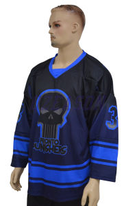Sublimation Sports Wear Customized Team Polyester Ice Hockey Wear (H018) pictures & photos