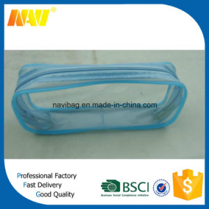 See Through Clear PVC Pencil Bag