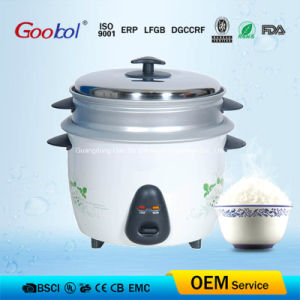 Drum Rice Cooker to Asia Market with Flower Design Removable Inner Pot pictures & photos