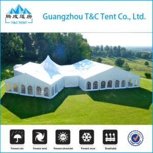 15X30m High Peak Mixed Dome Wedding Tent for 300 pictures & photos
