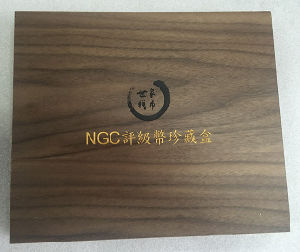 Maple Wood Coin Collection Box