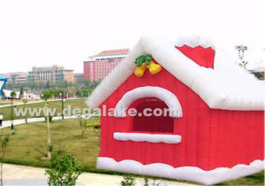 Inflatable Christmas House Tent Wholesale / Inflatable Family Tent for Christmas pictures & photos