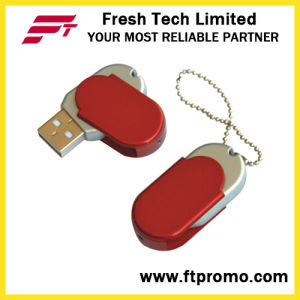Promotional Metal Swivel USB Flash Drive for Custom (D204) pictures & photos