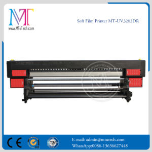 3.2m Roll to Roll UV Printer Withgen5 Printhead Aluminum Banner Printer for Sale Mt-Softfilm3207-UV pictures & photos