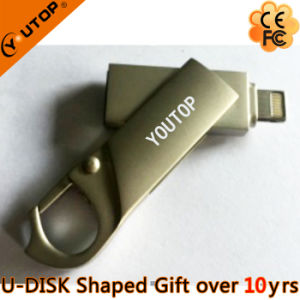 Newest Metal Swivel OTG USB Flash Drive for iPhone iPad pictures & photos